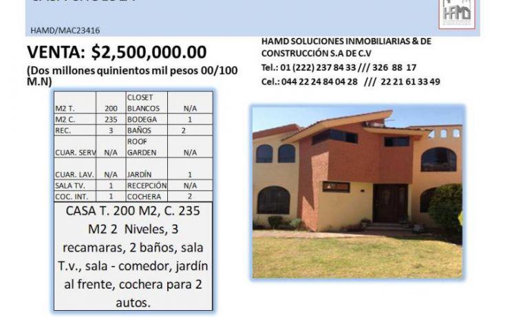 Foto de casa en venta en, cholula, san pedro cholula, puebla, 1798070 no 02