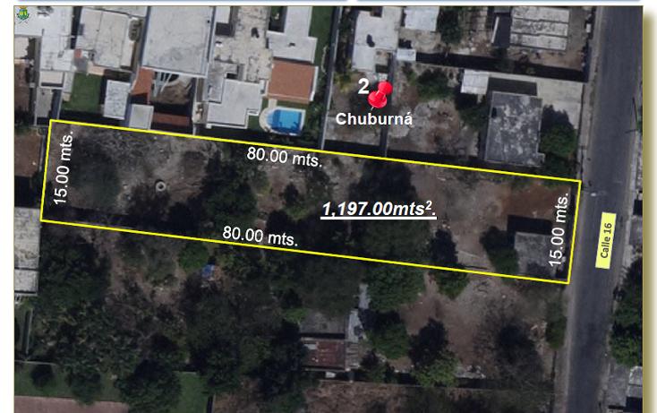 Foto de terreno habitacional en venta en  , chuburna de hidalgo iii, mérida, yucatán, 1060041 No. 01