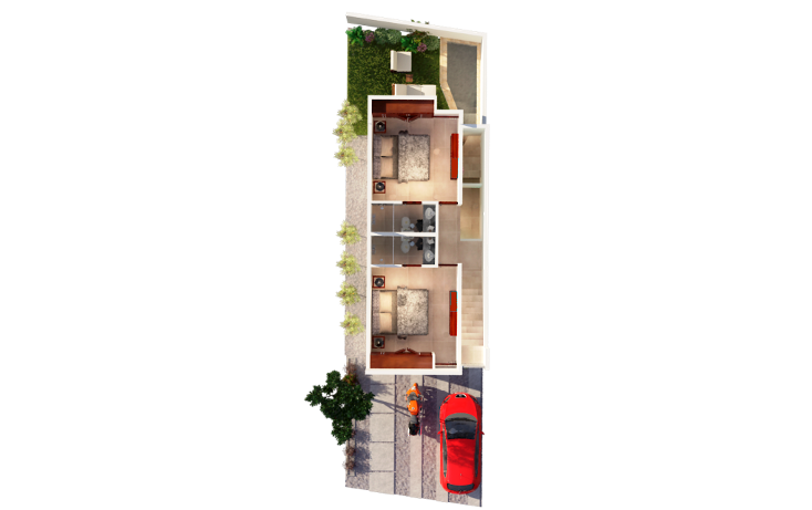 Foto de casa en venta en  , chuburna de hidalgo, mérida, yucatán, 1340649 No. 18