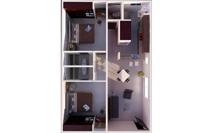 Foto de departamento en renta en  , chuburna de hidalgo, mérida, yucatán, 1576600 No. 04