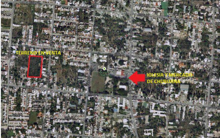 Foto de terreno habitacional en venta en, chuburna de hidalgo, mérida, yucatán, 1768114 no 11