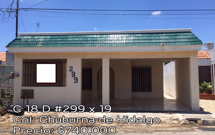 Foto de casa en venta en  , chuburna de hidalgo, m?rida, yucat?n, 1930166 No. 01