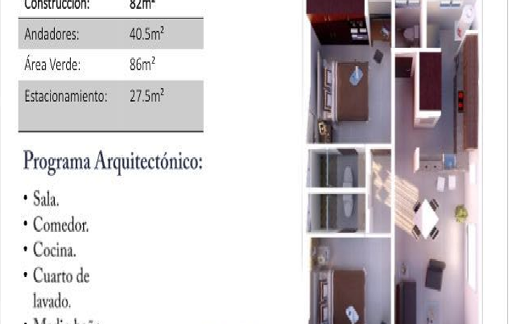 Foto de departamento en venta en  , chuburna de hidalgo, mérida, yucatán, 2017384 No. 05