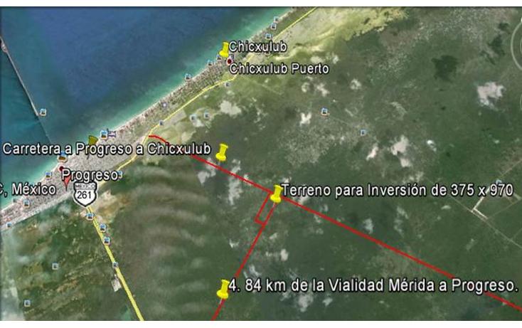 Foto de terreno habitacional en venta en  , ciénega 2000, progreso, yucatán, 1095499 No. 04