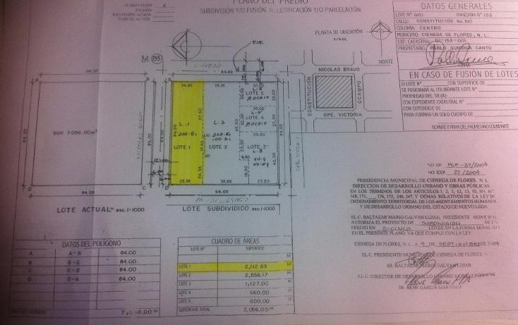 Foto de terreno comercial en renta en  , ciénega de flores centro, ciénega de flores, nuevo león, 1430395 No. 02