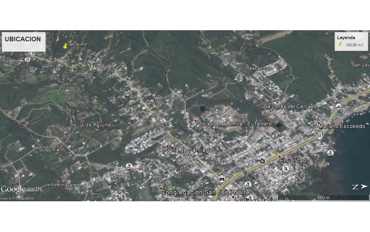 Foto de terreno habitacional en venta en  , cieneguilla, santiago, nuevo león, 1610420 No. 02