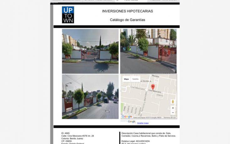 Foto de casa en venta en cine meicano 376, villas estrella, iztapalapa, df, 1581018 no 01