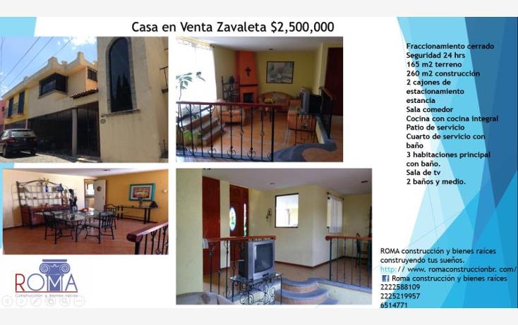 Foto de casa en venta en  , cipreses  zavaleta, puebla, puebla, 1973998 No. 01