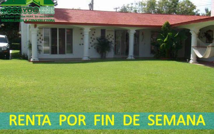 Foto de casa en renta en circuito, lomas de cocoyoc, atlatlahucan, morelos, 1669172 no 01