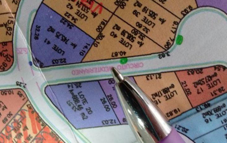 Foto de terreno habitacional en venta en circuito mediterraneo, alquerías de pozos, san luis potosí, san luis potosí, 1497017 no 01