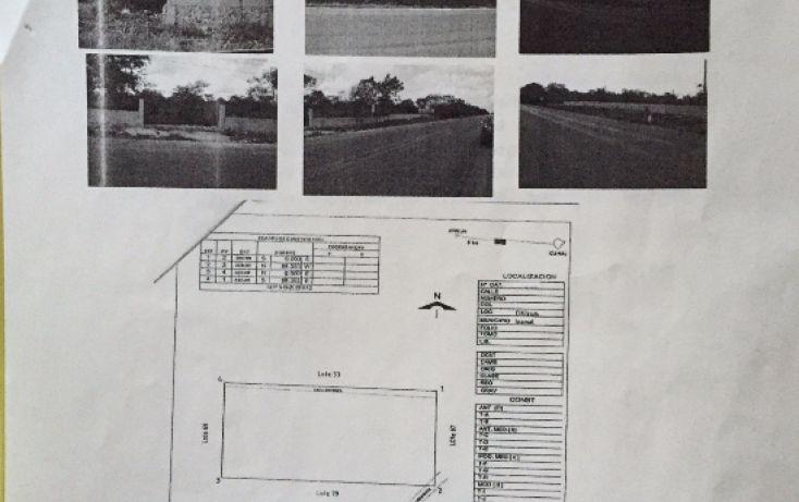 Foto de terreno habitacional en venta en, citilcum, izamal, yucatán, 1781038 no 01