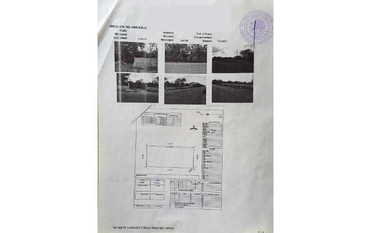 Foto de terreno habitacional en venta en  , citilcum, izamal, yucatán, 1781038 No. 01