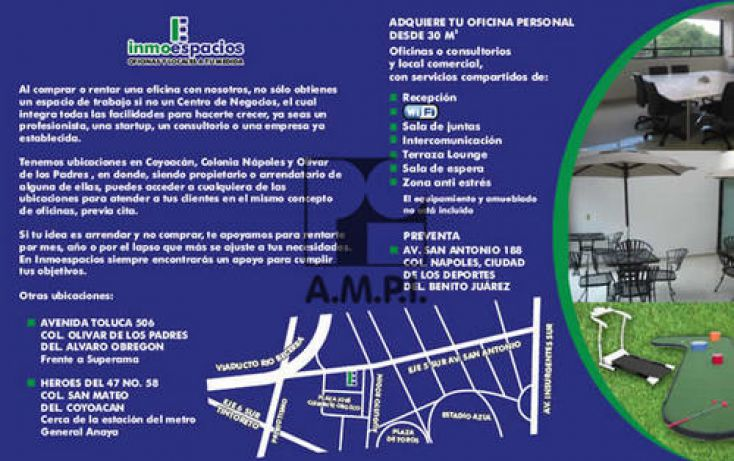 Foto de oficina en venta en, ciudad de los deportes, benito juárez, df, 2023217 no 05