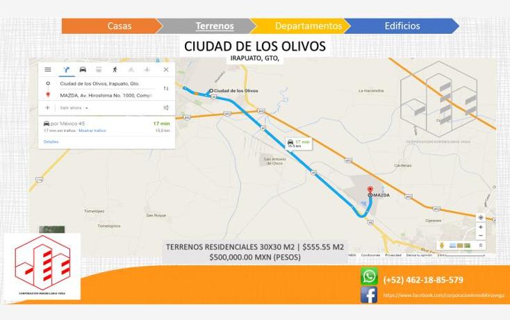 Foto de terreno habitacional en venta en  , ciudad de los olivos, irapuato, guanajuato, 1325959 No. 02