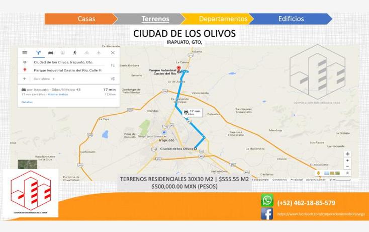 Foto de terreno habitacional en venta en  , ciudad de los olivos, irapuato, guanajuato, 1325959 No. 03