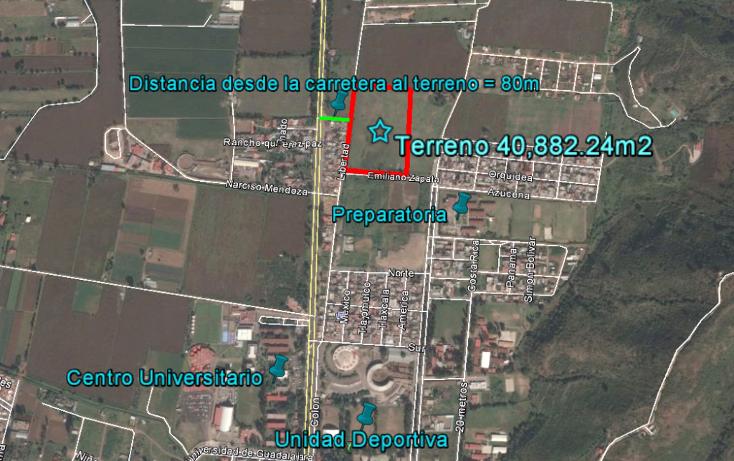 Foto de terreno comercial en venta en  , ciudad guzmán centro, zapotlán el grande, jalisco, 1737184 No. 06
