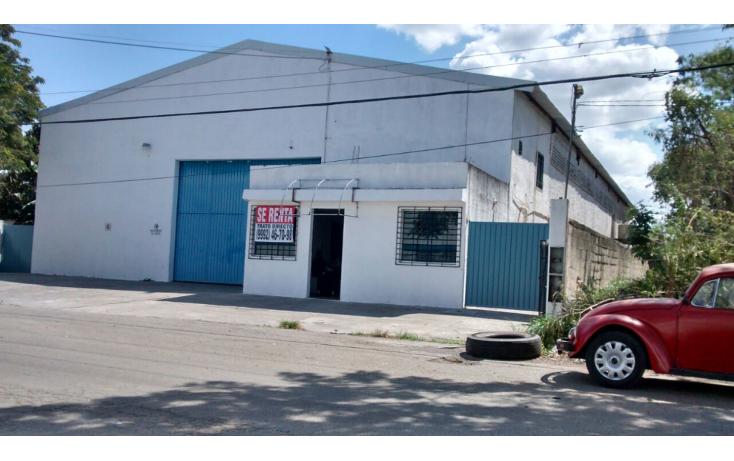 Foto de bodega en renta en  , ciudad industrial, mérida, yucatán, 1179615 No. 01