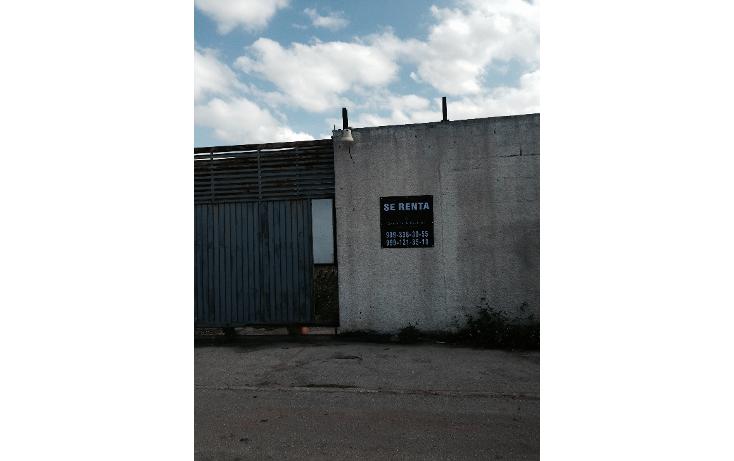 Foto de nave industrial en renta en  , ciudad industrial, m?rida, yucat?n, 1269743 No. 03