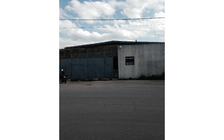 Foto de nave industrial en renta en  , ciudad industrial, mérida, yucatán, 1477691 No. 01