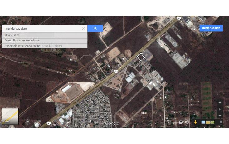 Foto de terreno comercial en venta en  , ciudad industrial, um?n, yucat?n, 1102859 No. 02