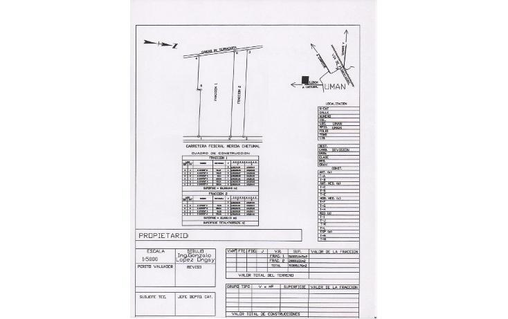 Foto de terreno comercial en venta en  , ciudad industrial, umán, yucatán, 1287069 No. 01