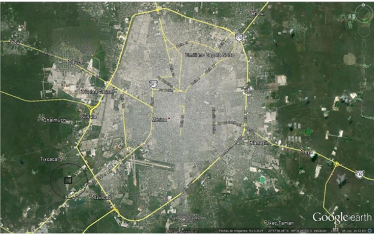 Foto de terreno industrial en venta en  , ciudad industrial, umán, yucatán, 1436457 No. 01
