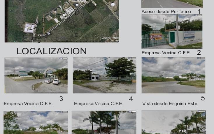 Foto de terreno industrial en venta en  , ciudad industrial, umán, yucatán, 1436457 No. 03