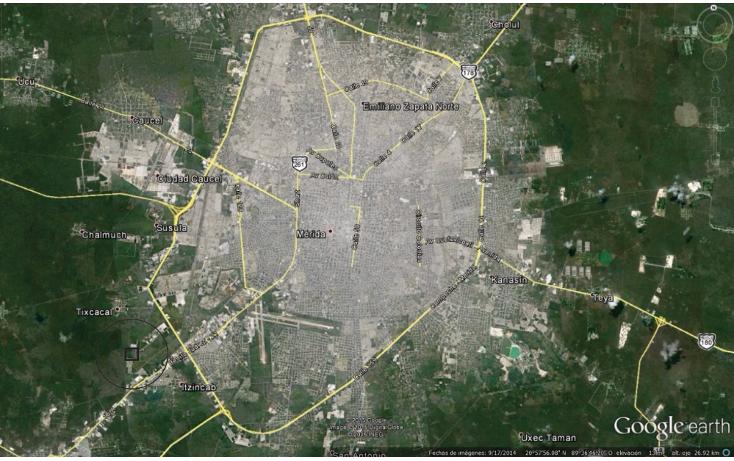 Foto de terreno industrial en venta en  , ciudad industrial, umán, yucatán, 1436457 No. 10