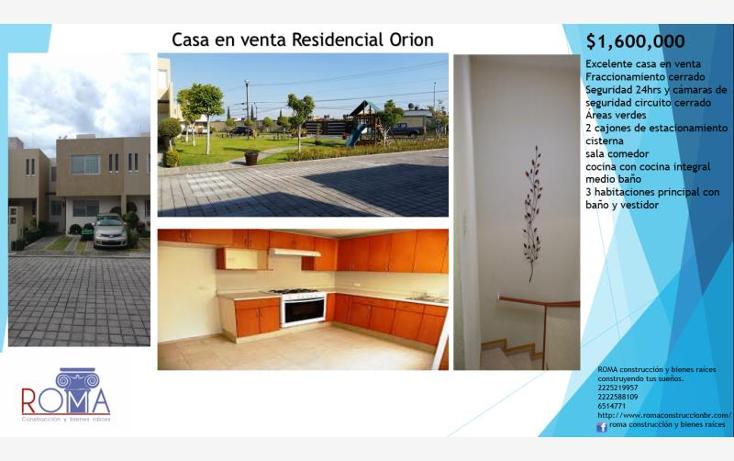 Foto de casa en venta en  , ciudad judicial, san andr?s cholula, puebla, 2023490 No. 02
