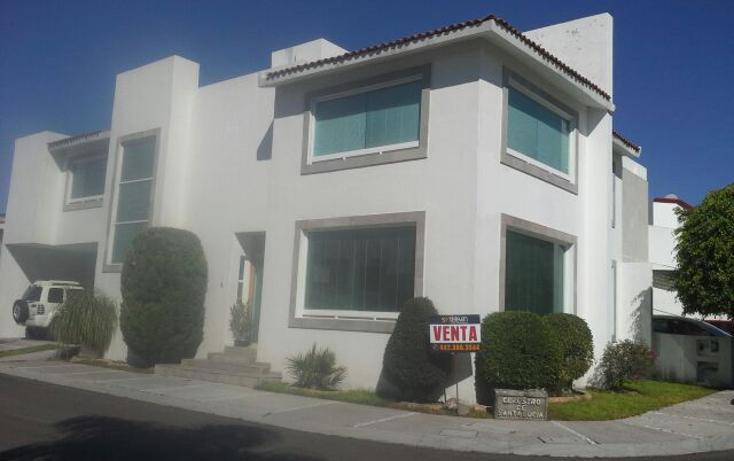 Foto de casa en venta en  , claustros de santiago, querétaro, querétaro, 1281527 No. 01