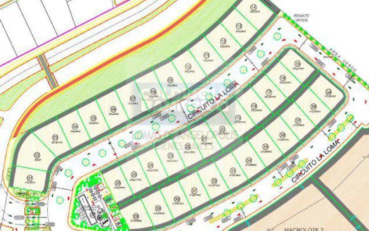 Foto de terreno habitacional en venta en clster la loma, lomas de angelópolis ii, san andrés cholula, puebla, 779367 no 01