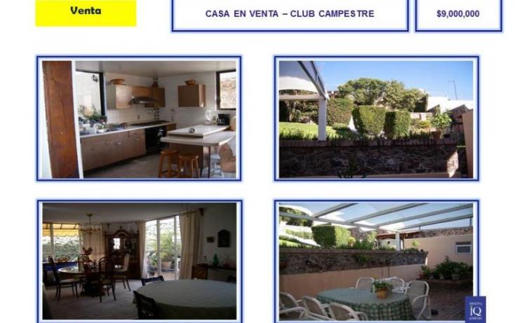 Foto de casa en venta en club de golf campestre, del valle, querétaro, querétaro, 754195 no 02