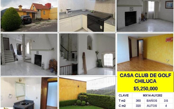 Foto de casa en venta en  , club de golf chiluca, atizap?n de zaragoza, m?xico, 602365 No. 01