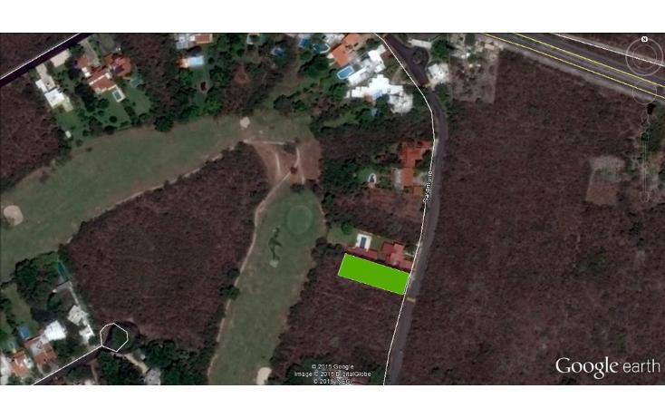 Foto de terreno habitacional en venta en  , club de golf la ceiba, mérida, yucatán, 1100149 No. 01