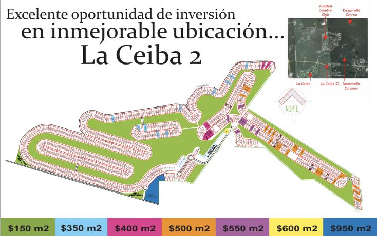 Foto de terreno habitacional en venta en  , club de golf la ceiba, mérida, yucatán, 1171555 No. 01