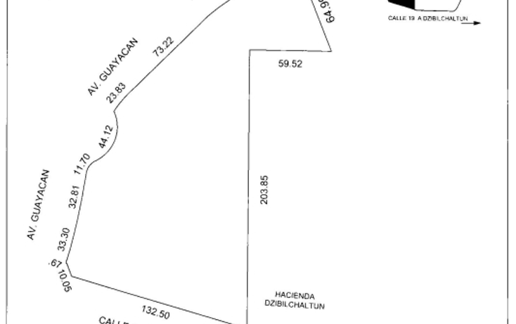 Foto de terreno habitacional en venta en  , club de golf la ceiba, mérida, yucatán, 1171555 No. 02