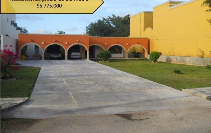 Foto de casa en venta en  , club de golf la ceiba, mérida, yucatán, 1860408 No. 01