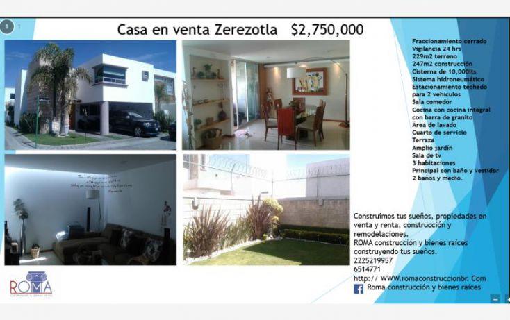 Foto de casa en venta en, club de golf la huerta, san pedro cholula, puebla, 1616632 no 01
