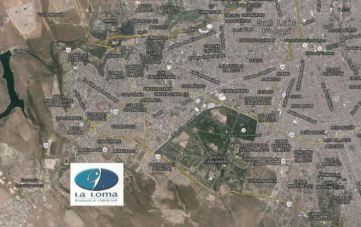 Foto de terreno habitacional en venta en, club de golf la loma, san luis potosí, san luis potosí, 990629 no 01