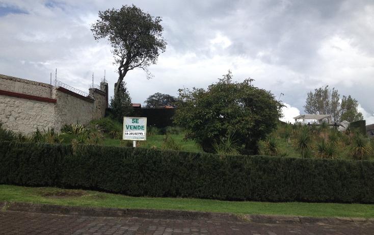 Foto de terreno habitacional en venta en  , club de golf los encinos, lerma, méxico, 1112277 No. 01