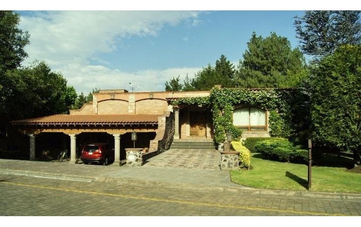 Foto de casa en renta en  , club de golf los encinos, lerma, méxico, 1164539 No. 01