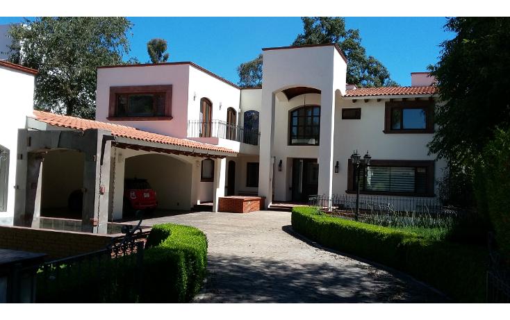 Foto de casa en renta en  , club de golf los encinos, lerma, méxico, 1227227 No. 01