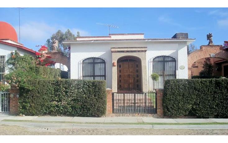 Foto de casa en venta en  , club de golf tequisquiapan, tequisquiapan, querétaro, 1192061 No. 01