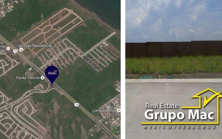 Foto de terreno habitacional en venta en, club de golf villa rica, alvarado, veracruz, 1420091 no 01