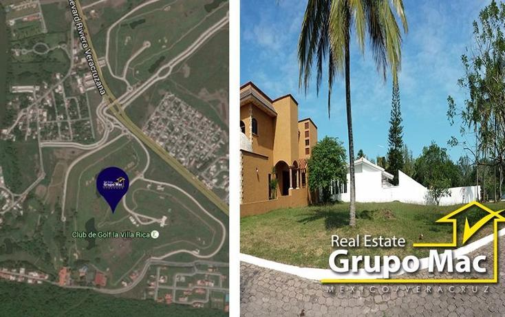 Foto de terreno habitacional en venta en  , club de golf villa rica, alvarado, veracruz de ignacio de la llave, 1422731 No. 01