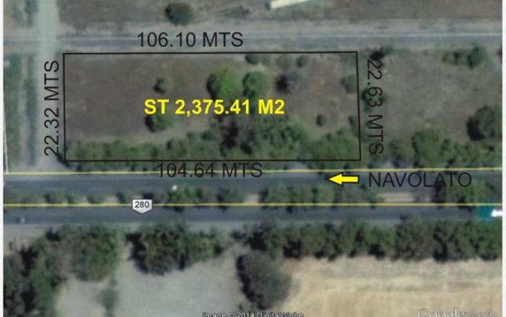 Foto de terreno comercial en venta en, cofradia de los rocha, navolato, sinaloa, 856387 no 01