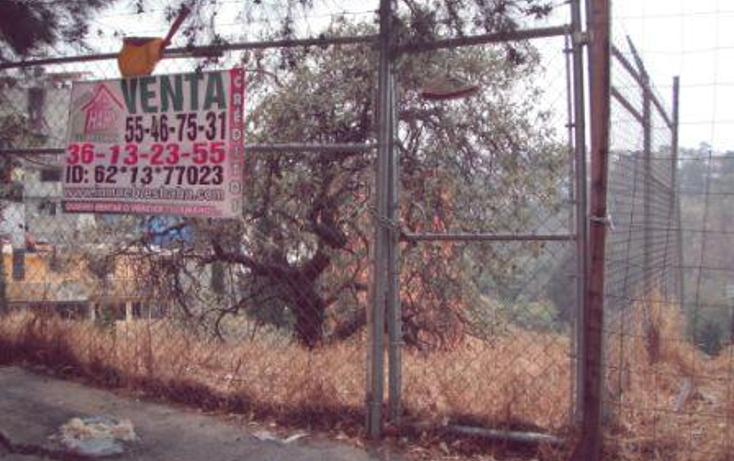 Foto de terreno habitacional en venta en  , colina del sur, álvaro obregón, distrito federal, 1095477 No. 02