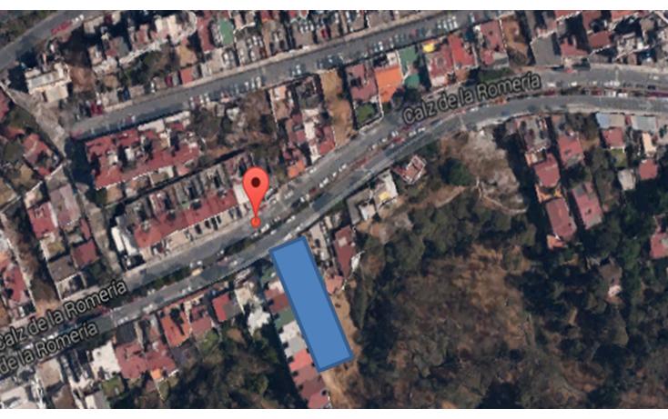 Foto de terreno habitacional en venta en  , colina del sur, ?lvaro obreg?n, distrito federal, 1213593 No. 01