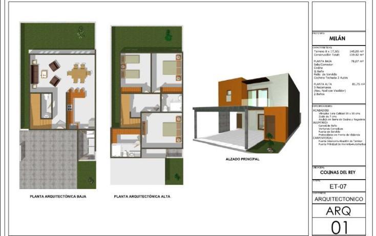 Foto de casa en venta en  , colinas del rey, villa de álvarez, colima, 996583 No. 15