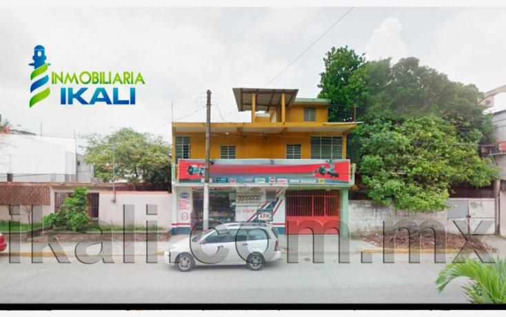 Foto de edificio en venta en colombia 5, túxpam de rodríguez cano centro, tuxpan, veracruz, 836283 no 01